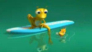 Frog Mobile: Ψάρι/Σουπιά