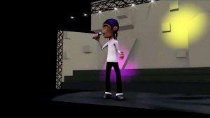 Michael Jackson Dancing 3D