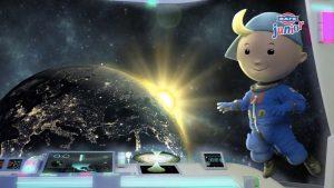 Ο Junior στο Διαστημικό Σταθμό (Space Station)